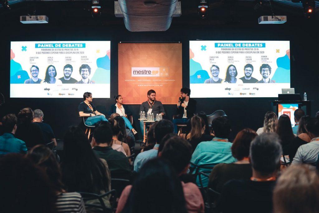 Painel de Debates sobre a pesquisa Panorama da Gestão de Projetos 2019